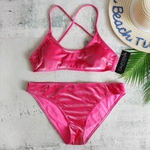 California Waves | Velvet Bralette Bikini XL